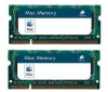 CORSAIR Pamäť notebook Mac Memory 2 x 4 GB DDR2-800 PC-6400 (VSA8GBKITFB800D2) + Hub USB 4 porty UH-10 + Kľúč USB WN111 Wireless-N 300 Mbps