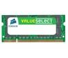CORSAIR Pamäť pre notebook Value Select 2 GB DDR3-1066 PC3-8500 CL7