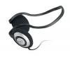 Slúchadlá HQ-80 Backphones + Predl?ovaeka Jack 3,52 mm -nastavenie hlasitosti a inter mono/stereo - Pozlátený - 3 m