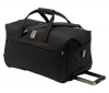 DELSEY Brillance Plus Trolley cestovná taška 2 kolieska 75cm čierna  + Brillance Plus Kufor Trolley 2 kolieska 75cm šedý + Brillance Plus Kozmetická taška  21cm čierna