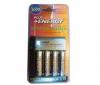 EFORCE Nabíjačka 8H LR6 (AA) + LR035 (AAA) V002 + 4 Batérie NiMH LR6 (AA) 2600 mAh
