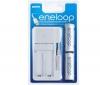 ENELOOP Nabíjačka USB MDU01-E-2-3UTG pre AA alebo AAA + 2 batérie AA