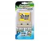 ENERGIZER Ultra kompaktná nabíjačka LR6 (AA) / LR03 (AAA) + 4 batérie AA 2500 mAh + 2 batérie AAA 850 mAh