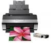 EPSON Foto tlačiareň STYLUS R2880 + Kábel USB A samec/B samec 1,80m + Foto papier matný - 100g/m? - A4 - 100 listov (C13S041061)