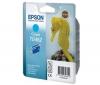 EPSON Náplň azúrová (C13T048240)