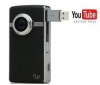 FLIP Mini videokamera Ultra HD - čierna + Nylonové puzdro TBC-302 + Nabíjačka na zapaľovač USB Black Velvet