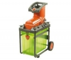 FLYMO Elektrický drvič odpadu Pac A Shredder 2500 W + Kožené záhradné rukavice 570-20 - veľkost 9/L + Ochranné okuliare PRPROTLM