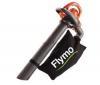 FLYMO Vysávač a fúkac s drvicom Twister 2200 XV + Záhradnícke rukavice Vichy 565-20 - veľkosť 8/M
