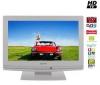 FUNAI LCD televízor LT7-M19WB biely  + Predlžovačka viac zásuvková 5 zásuviek - 1,5 m