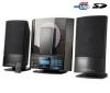 H&B Mikroveža CD/MP3 USB/SD HF-330i + Puzdro RBNW34 na CD/DVD - čierne