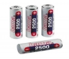 HAMA Dobíjate?ná baterka LR06 (AA) NiMH 1,2 V 2500 mAh (Balenie 4 ks)