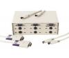 HAMA Manual Data Switchbox-Set 15-pin, Grey