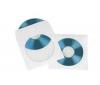 HAMA Papierové obaly na CD - biele - 25 kusov