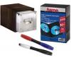 HAMA Sada 401042 (úložná krabica Expresso + balenie 10 obalov na DVD + 2 farebné perá)