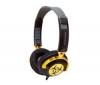 IFROGZ Zatvorené slúchadlá EarPollution NervePipe - Hazard / BlackGold + Stereo slúchadlá s digitálnym zvukom (CS01)