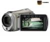 JVC HD videokamera GZ-HM300 - strieborná + Pamäťová karta SDHC 16 GB