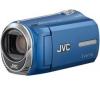 JVC Videokamera GZ-MS210 modrá + Čítačka kariet 1000 & 1 USB 2.0 + Brašna + Pamäťová karta SDHC 4 GB