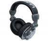 KAM Slúchadlá DJ KHP1000 - čierna + Predl?ovaeka Jack 3,52 mm -nastavenie hlasitosti a inter mono/stereo - Pozlátený - 3 m