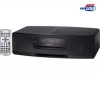 KENWOOD Mini veža CD/USB/MP3/WMA/AAC K-323 čierna  + Podstavce pre reproduktory Stylum 3 - strieborné