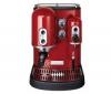 KITCHENAID Espresso Artisan 5KES100EER cervené + Prípravok proti vodnému kameňu pre kávovar espresso + Súprava 2 pohárov espresso PAVINA 4557-10 + Súprava 6 lyžiciek moka BARCELONA K6334-16