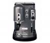 KITCHENAID Espresso Artisan 5KES100EPM sivé + Mlyncek na kávu 5KCG100EPM
