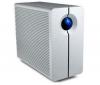 LACIE Externý pevný disk 2BIG Quadra 2TB RAID/USB 2.0/FireWire 400/FireWire 800/eSATA + Kábel sieťový Ethernet RJ45 rovný (kategória 5) - 20 m