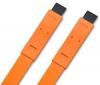 LACIE Kábel FireWire FW800 na FW800 Flat Cables - 1,2m - oranžový (130851)