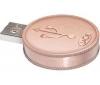 LACIE Kľúč USB Flash Currenkey 4 GB USB 2.0 bronz + Kábel HDMI samec / HMDI samec - 2 m (MC380-2M) + WD TV HD Media Player