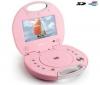 LENCO Prenosný DVD prehrávač Walky Box ružový