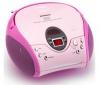 LENCO Rádio CD/MP3 SCD-24 ružové