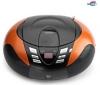 LENCO Rádio CD/MP3/USB SCD-37 oranžové