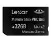 LEXAR Pamäťová karta Memory Stick PRO Duo - Premium 32 GB