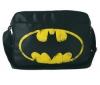 LOGOSHIRT Batman Logo Taška cez plece 29cm čierna/žltá