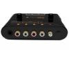 MIXVIBES Mobilné audio rozhranie UMIX44 pre DJ + Stereo slúchadlá HDJ-1000