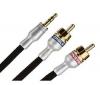MONSTER CABLE Kábel audio - mini-jack stereo 3,5 mm/ RCA samec