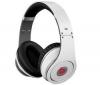 MONSTER CABLE Slúchadlá Beats Studio by Dr. Dre - biele + Rozdvojka zásuvky jack 3.5mm