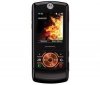 MOTOROLA ROKR Z6 mandarinková + Univerzálna nabíjačka Multi-zásuvka - Swiss charger V2 Light + Sada do auta Bluetooth Auto Light čierna + Pamäťová karta Micro SD HC 4 GB + adaptér SD