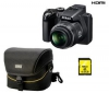 NIKON Coolpix P100 + mini brašna CS-P03 + SD karta  4 GB