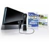 NINTENDO Konzola Wii Čierna + 1 Nunchuk + 1 Wiimote + Wii Motion Plus + Wii Sport Resort - Limitovaná Edícia + Just Dance + Ovládač Nunchuck Wii čierny [WII] + Wiimote + Wii Motion Plus - čierna [WII] + Dvojitá indukcná nabíjačka [WII]