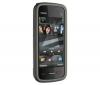 NOKIA 5228 čierny + Slúchadlo Bluetooth Blue design - čierne