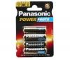 PANASONIC 4 batérie Power Photo MN1500 LR6 (AA) - 12 balení