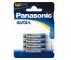 PANASONIC 4 baterky Evoia LR03EE