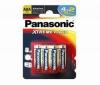 PANASONIC 4 baterky LR03 (AAA) Alcaline Xtreme Power + 2 zdarma