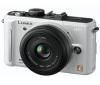 PANASONIC DMC-GF1CEG-W (sada 20 mm) biely + Púzdro Reflex + Pamäťová karta SDHC Premium 32 GB 60x + Batéria PS0B13