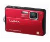 PANASONIC Lumix   DMC-FT10EF-R - Digital camera - compact - 14.1 Mpix - optical zoom: 4 x - supported memory: SD, SDXC, SDHC - red + Púzdro Pix Compact + Pamäťová karta SDHC 8 GB