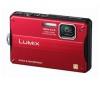PANASONIC Lumix   DMC-FT10EF-R - Digital camera - compact - 14.1 Mpix - optical zoom: 4 x - supported memory: SD, SDXC, SDHC - red + Púzdro Pix Compact + Pamäťová karta SDHC 16 GB