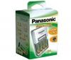 PANASONIC Nabíjačka AA/AAA BQ-392 + 4 batérie NiMH AA P6I 2100 mAh