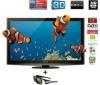 PANASONIC Plazmový televízor TX-P50VT20E + 3D okuliare Full HD TY-EW3D10E + Prehrávač Blu-ray 3D DMP-BDT300EG