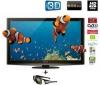 PANASONIC TX-P65VT20E Plasma Screen - 3D + 3D okuliare Full HD TY-EW3D10E + Prehrávač Blu-ray 3D DMP-BDT300EG