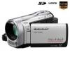 PANASONIC Videokamera Full HD HDC-SD60 - strieborná + Brašna + Pamäťová karta SDHC 8 GB